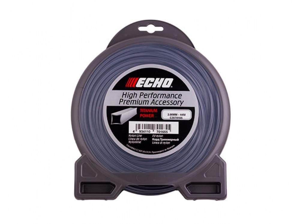 Titanium Power Line 3.0мм x 44м (квадрат) C2070165 в фирменном магазине Echo