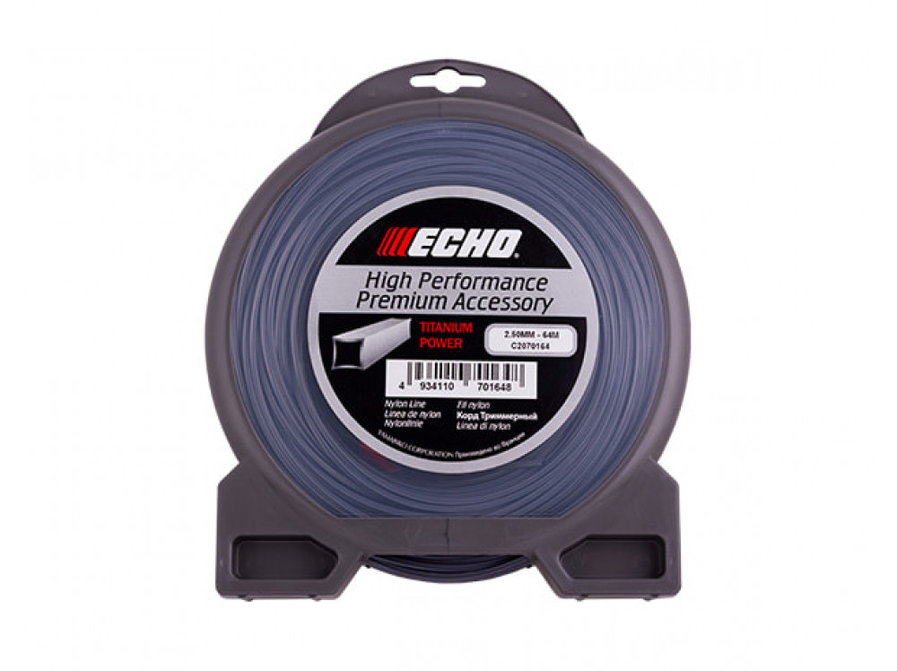 Titanium Power Line 2,5 мм* 64 м (квадрат) C2070164 в фирменном магазине Echo
