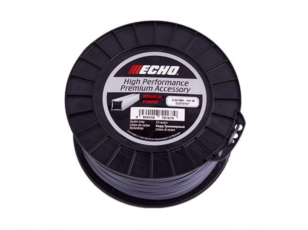 Titanium Power Line 2,5мм*191м (квадрат) C2070167 в фирменном магазине Echo