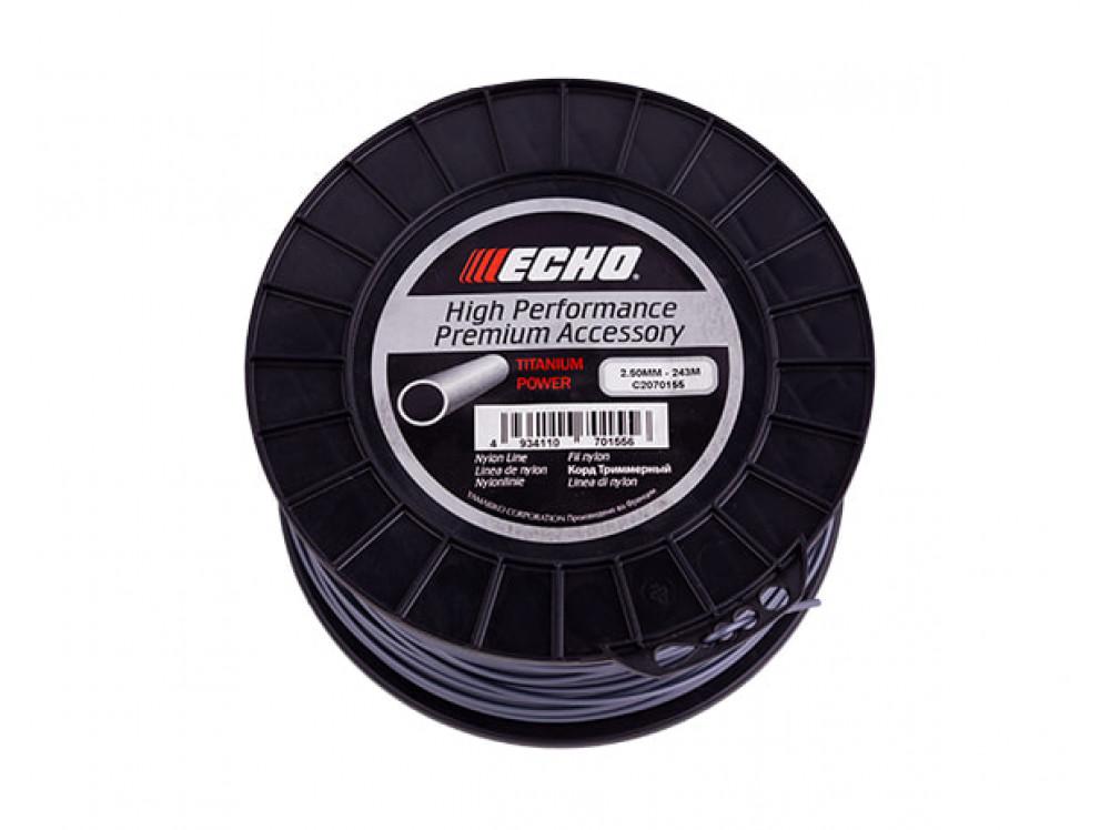 Titanium Power Line 2,5мм*243м (круглый) C2070155 в фирменном магазине Echo