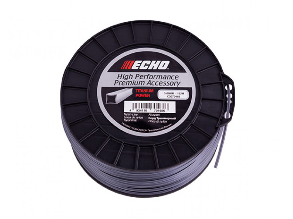 Titanium Power Line 3,0мм*132м (квадрат) C2070168 в фирменном магазине Echo