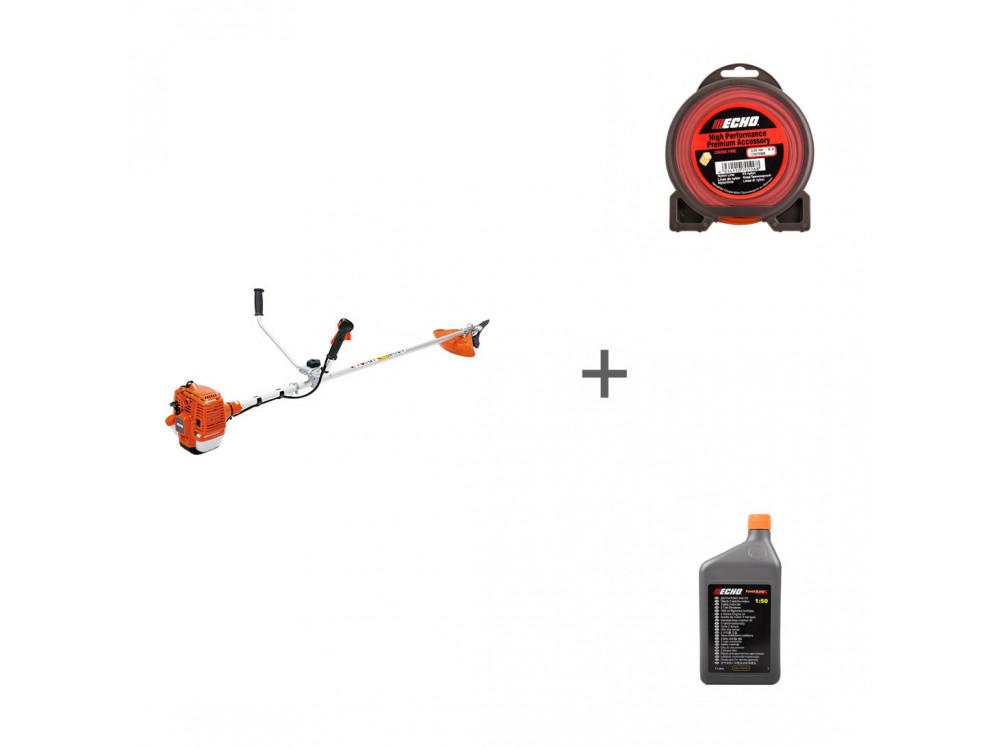 SRM-350ES, Cross Fire Line 3,0 мм*10 м (крест), 1:50 JASO FD SRM-350ES, 102151220, 6454107 в фирменном магазине Echo