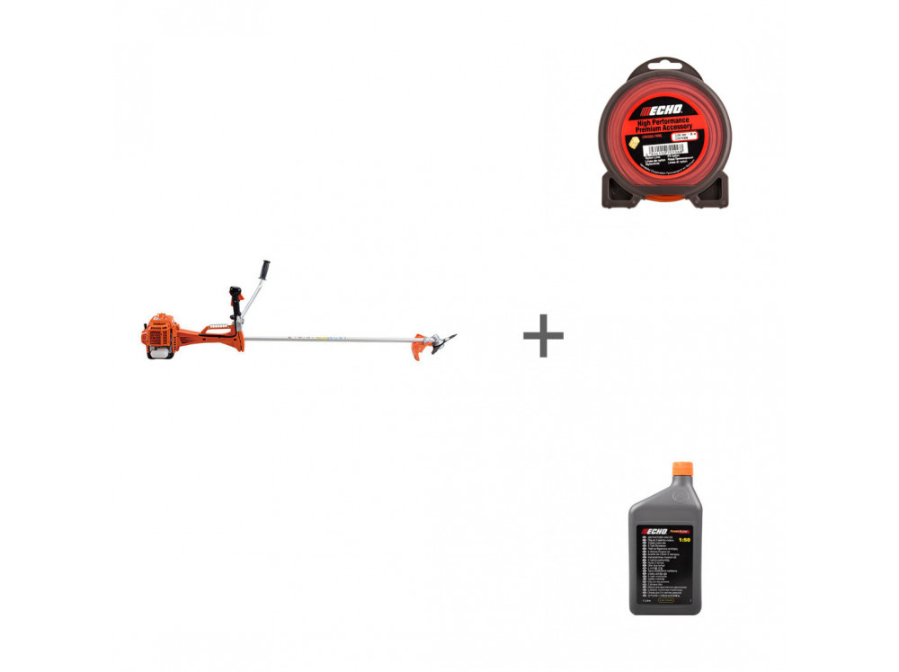 SRM-420ES, Cross Fire Line 3,0 мм*10 м (крест), 1:50 JASO FD SRM-420ES, 102151220, 6454107 в фирменном магазине Echo