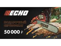 Подарочный сертификат Echo 50000 руб.