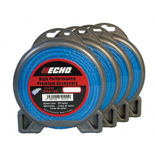 Корд триммерный Echo Silent Spiral Line 2,4 мм*86 м (витой)