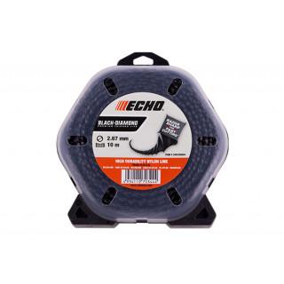Корд триммерный Echo Black Diamond 2,7 мм*10 м