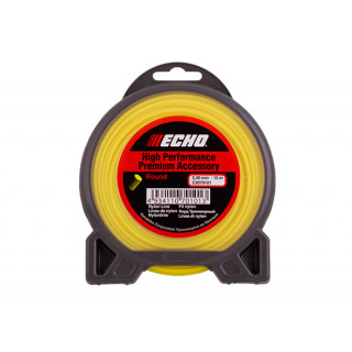 Корд триммерный Echo Round Line 2.4 мм х15 м (круглый)