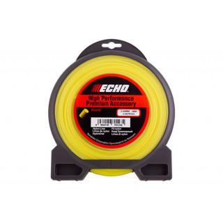Корд триммерный Echo Round Line 3,0мм* 56м (круглый)
