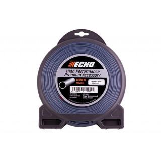 Корд триммерный Echo Titanium Power Line 2,5 мм* 81 м (круглый)