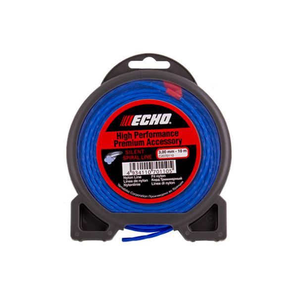 Корд триммерный Echo Silent Spiral Line 3.0мм x 10м (витой)
