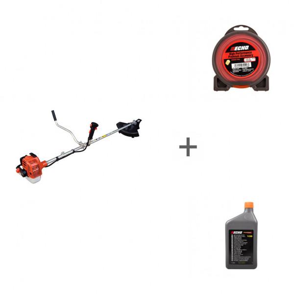 Триммер бензиновый Echo SRM-22GES + корд + масло в подарок!