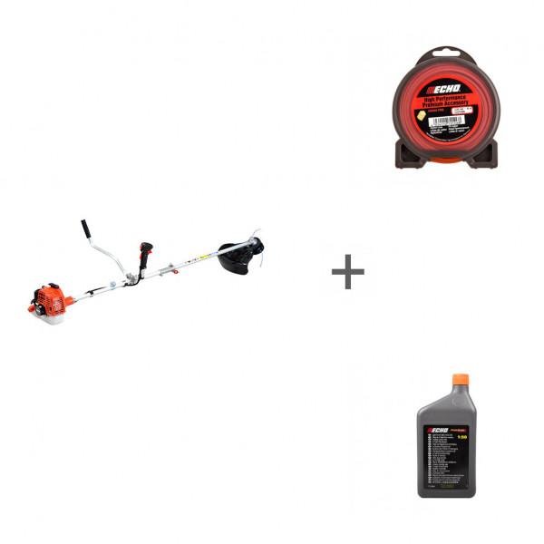 Триммер бензиновый Echo SRM-22GES-SB + корд + масло в подарок!