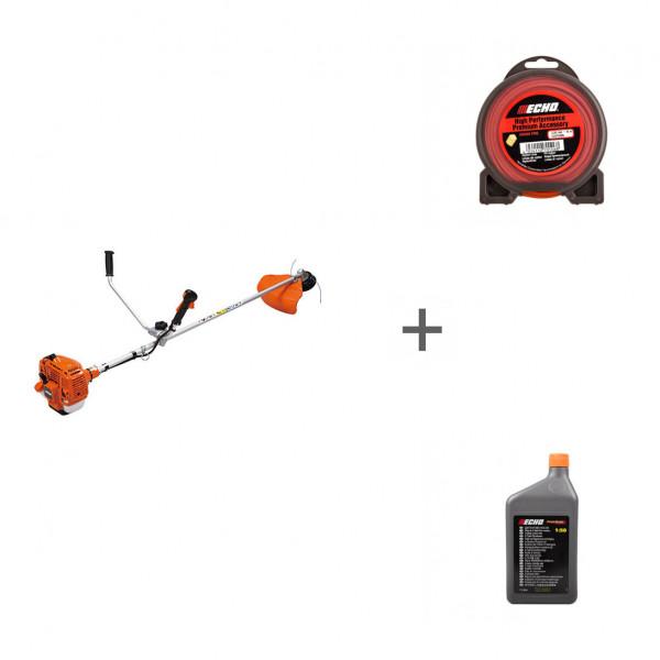 Триммер бензиновый Echo SRM-335TES + корд + масло в подарок!