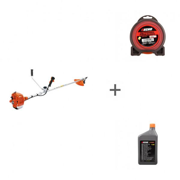 Триммер бензиновый Echo SRM-350ES + корд + масло в подарок!