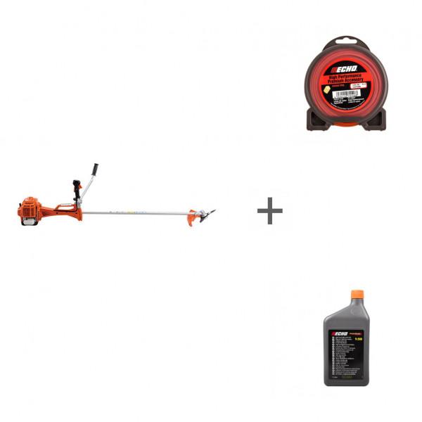 Триммер бензиновый Echo SRM-420ES + корд + масло в подарок!