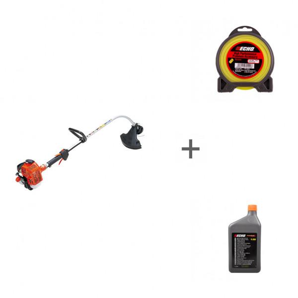 Триммер бензиновый Echo GT-22GES + корд + масло в подарок!